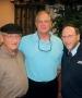 Chicago Sun Times journalist Rick Telander and Rabbis Gordon