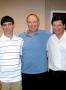 Sports journalist Bruce Wolf Aaron and Mark Weksler