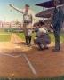 Illustration of Babe Ruth calling shot